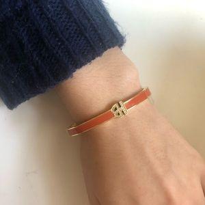 NEW Henri Bendel Bangle orange & gold Bracelet